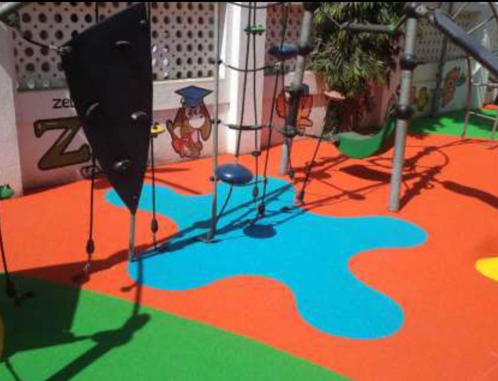 Gummigranulat für Spielbereiche